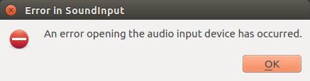 Sound input