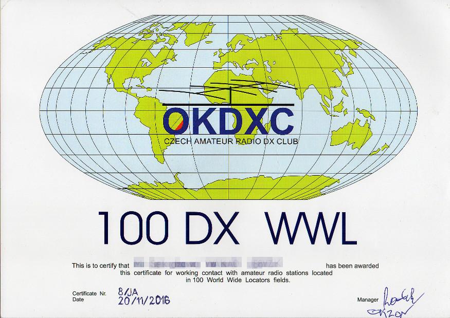 100DXWWL