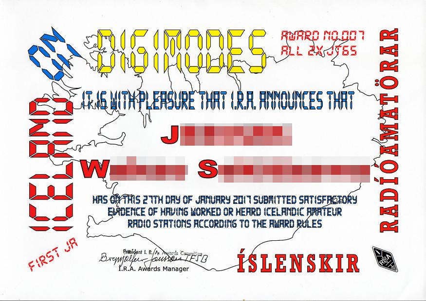 Iceland-Digimodes
